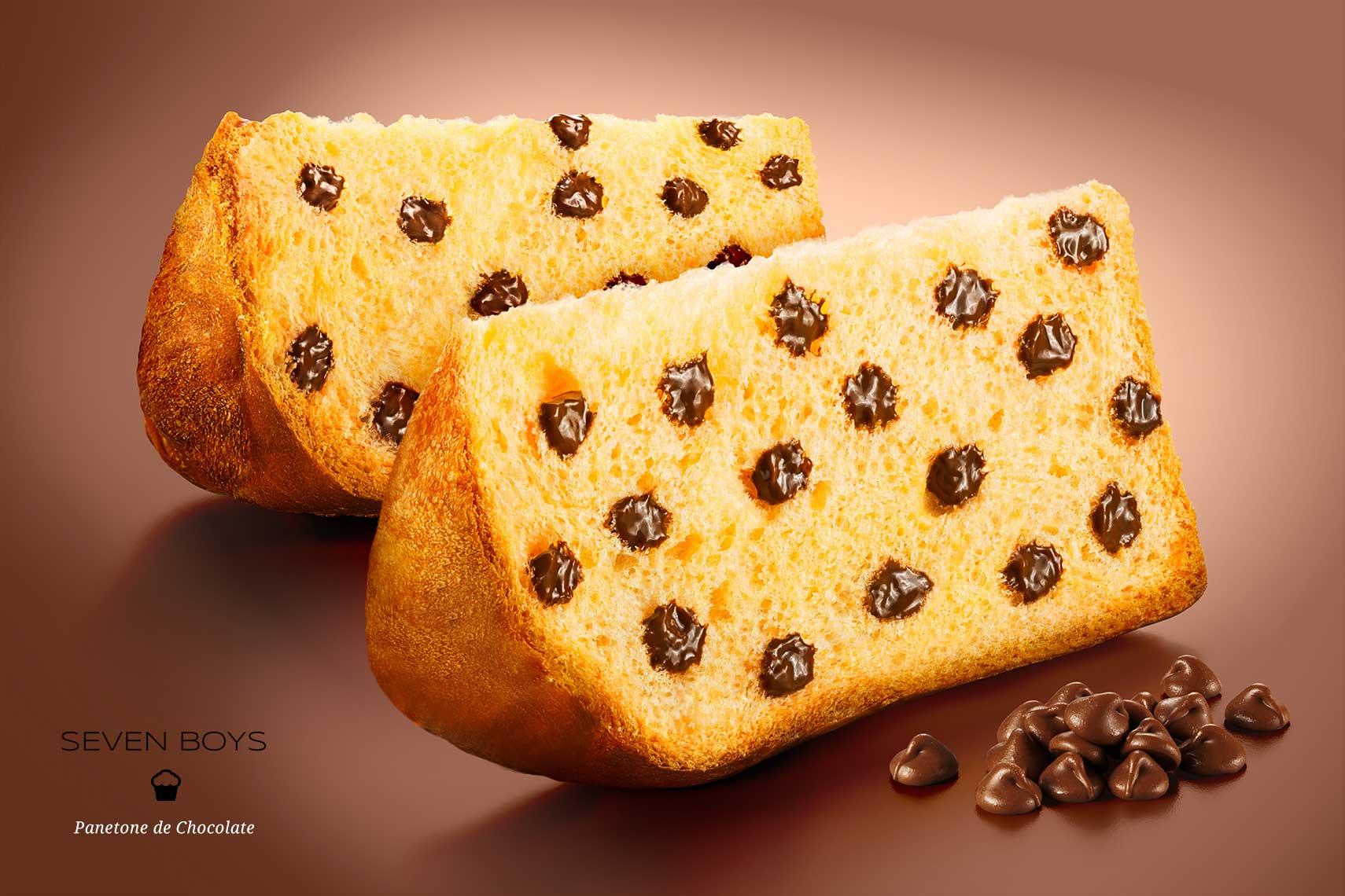 Fotógrafo de Alimentos - Panetone e Chocotone